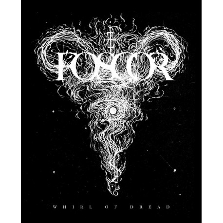 FOSCOR. Whirl od Dread - Back Patch (Black)