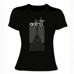 ADRIFT. Mountain Man Girly T-shirt