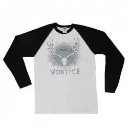 VÓRTICE. Cuervos T-shirt (White)