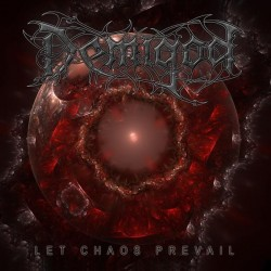 DEMIGOD Let Chaos Prevail LP (Red)