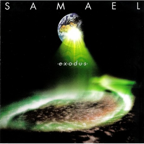 SAMAEL Exodus LP (Green)