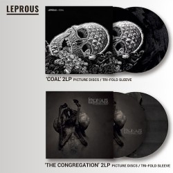 PACK LEPROUS Coal + The Congregation 2LP Picture