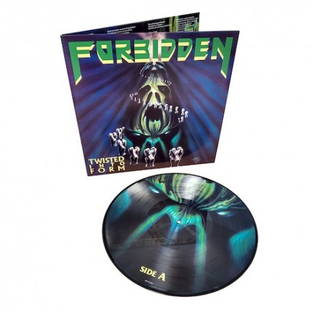 FORBIDDEN. Twisted Into Form LP Picture Disc