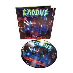 EXODUS. Fabulous Disaster LP Picture Disc