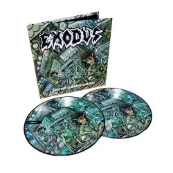 EXODUS. Another Lesson In Violence 2LP Picture Disc