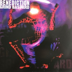 BENEDICTION. Grind Bastard. 2LP (Blue)