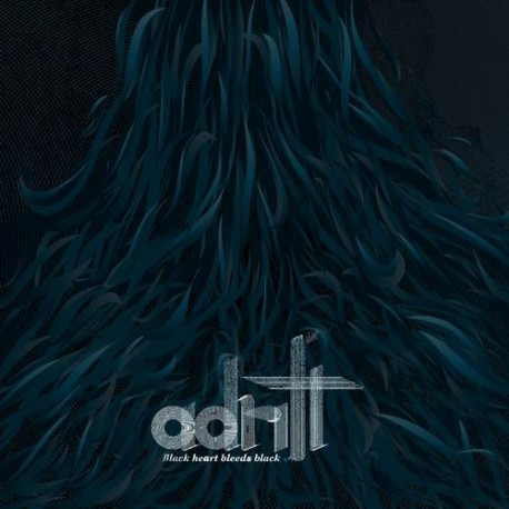 ADRIFT. Black Heart Bleeds Black 2LP (negro)