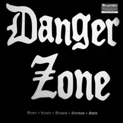 DANGER ZONE. Demos .LP (Blue Marbled)