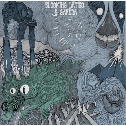 "BLOOMING LATIGO & GARUDA. 12"" Split EP"