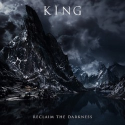KING. Reclaim The Darkness LP (Clear With Blue Spots)