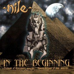 NILE. In The Beginning. LP Black