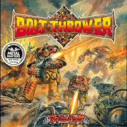 BOLT THROWER. Realm Of Chaos. LP (Red)