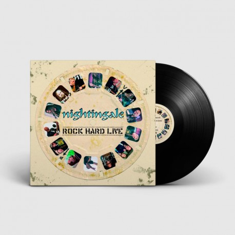 NIGHTINGALE. Rock Hard Live. LP Gatefold (Black)