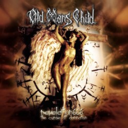 OLD MAN´S CHILD. Revelation 666 (The Curse Of Damnation) LP Bronze