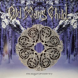 OLD MAN´S CHILD. The Pagan Prosperity LP Blue/Silver Swirl