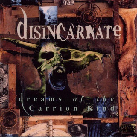 DISINCARNATE. Dreams of the Carrion Kind 2LP (Red)