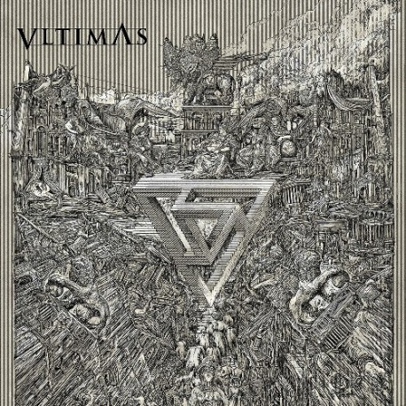 VLTIMAS. Something Wicked Marches In LP Gatefold