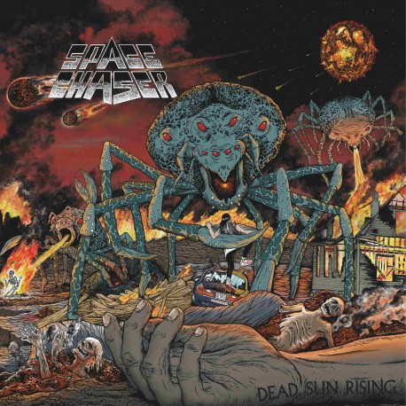 SPACE CHASER. Dead Sun Rising LP
