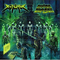 SPACE CHASER/DISTILLATOR. Split LP