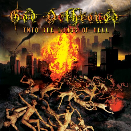 GOD DETHRONED. Into the Lungs of Hell LP