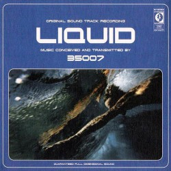 35007. Liquid LP (WHITE & BLUE)